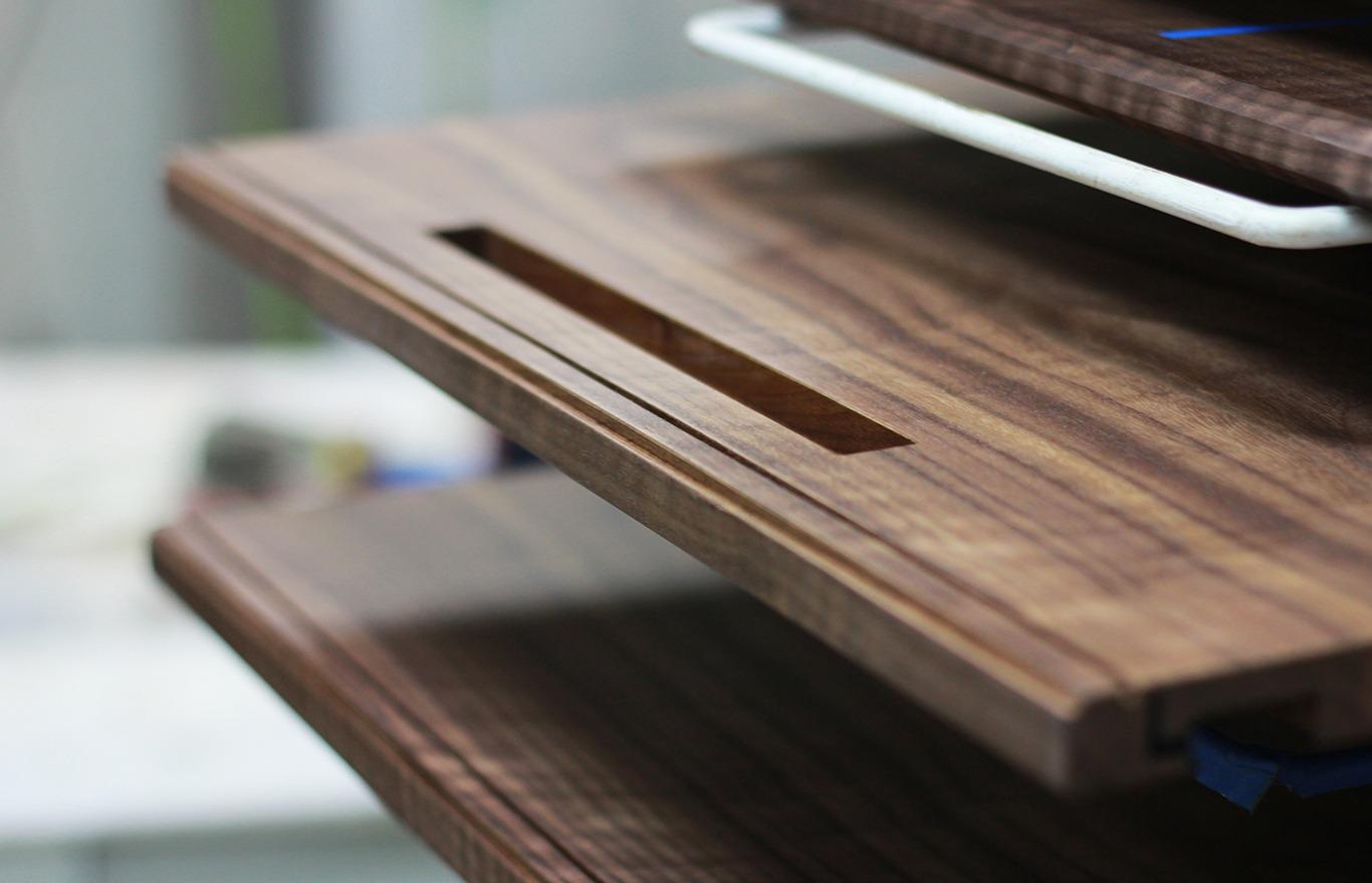 Walnut Wine Bar Cabinet Nationwide Custom Architectural Millwork Company